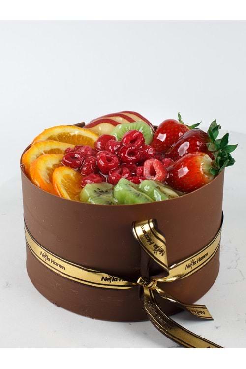 4 Kişilik Meyveli Pasta