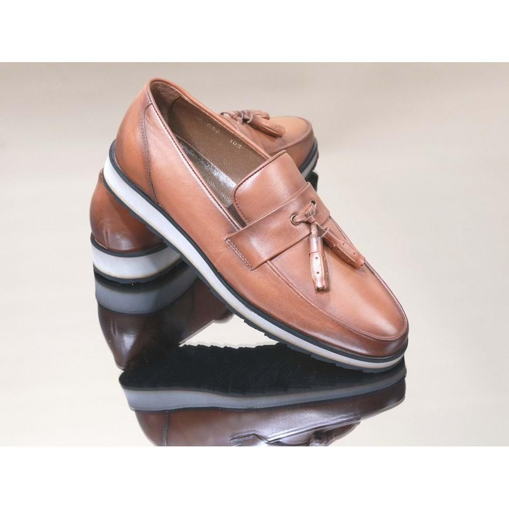 King West 1052 Hakiki Deri Erkek Ayakkabı