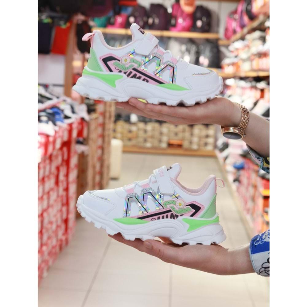 Kidessa 1063 26987 Jump Anatomik Kız Çocuk Sneakers Ayakkabı
